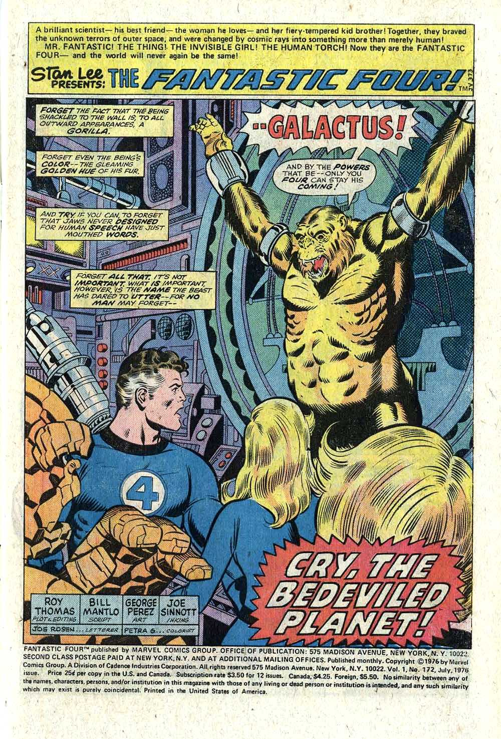 BHOC: FANTASTIC FOUR #172 – The Tom Brevoort Experience