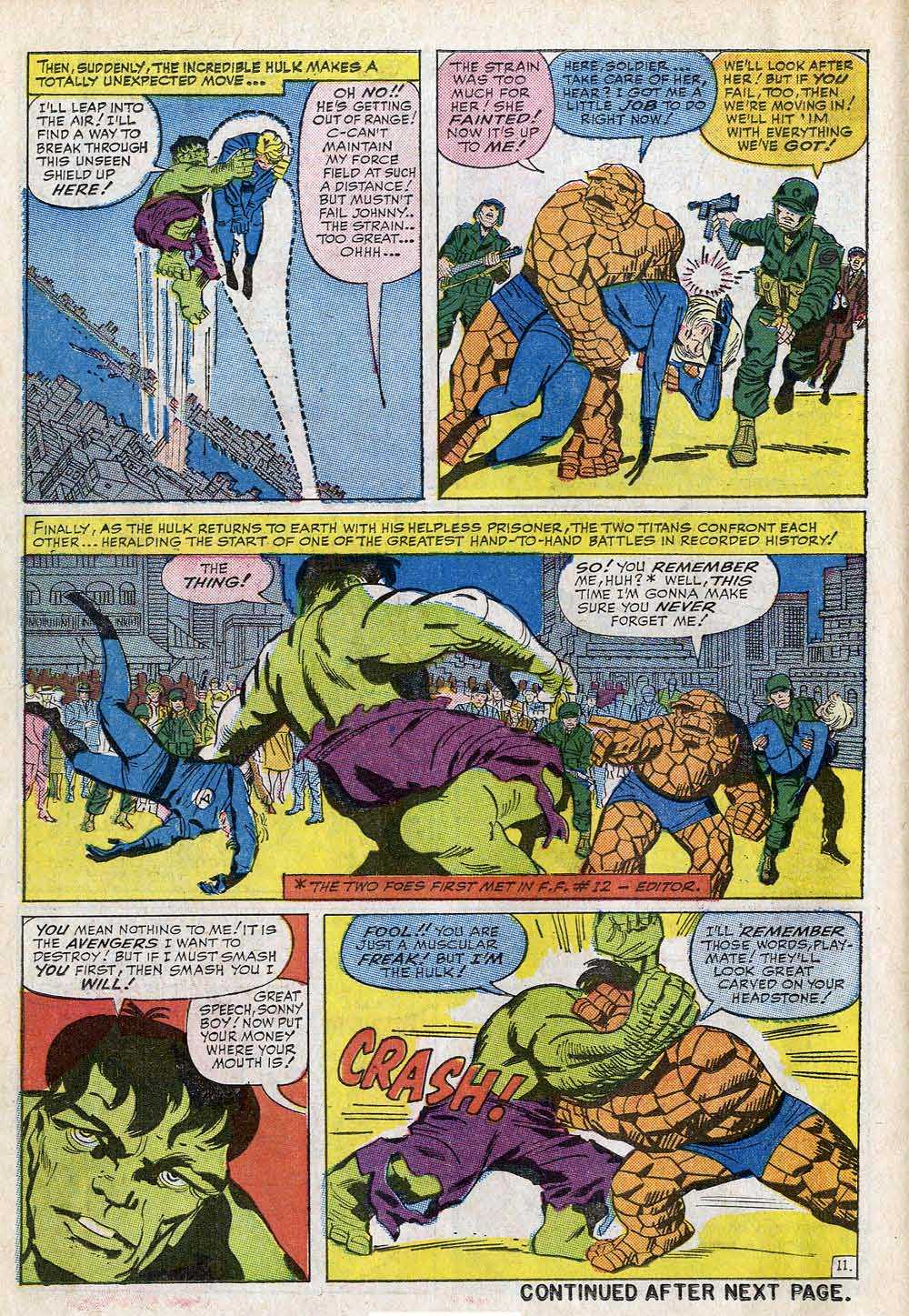 Lee & Kirby: THE INCREDIBLE HULK: He can fly! – The Tom Brevoort