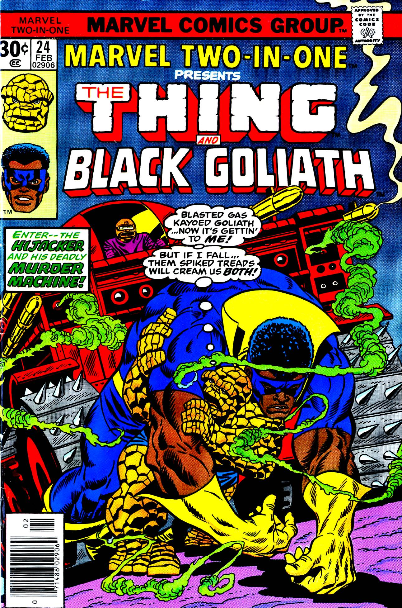 BHOC: MARVEL TWO-IN-ONE #24